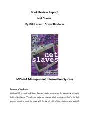 Book Review Report on Net Slaves.docx