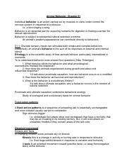 chapter 51 mini notes docx 1 th ch 51 notes from campbell reese rh coursehero com Modern Biology 5 1 Review Answers Printable Worksheets with Answer Keys