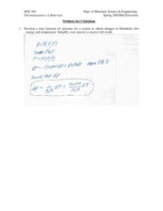 MSE 308 Problem Set 5 Solutions
