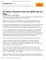 Apple's iPad and the Human Costs for Workers in China - NYTimes(1).pdf