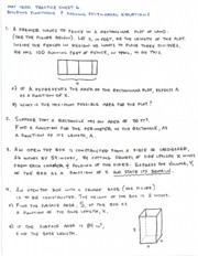 Practice Sheet 6 Building Functions and Solving Poly Equations and Answer Key