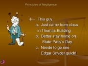 Chapter 5 - Negligence Powerpoint