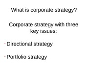 Week_5_Strategy_formulation_corporate_strategy
