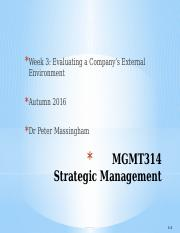 MGMT314 Week 3 2016 Autumn Massingham Student Version