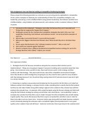 Competitive Analysis and Positioning Strategies - List of Questions and Word Template (2)