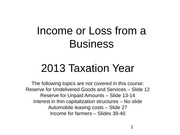 Chapter+06 Income+or+Loss+from+a+Business