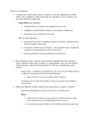 Mid-Term #1 Questions & answers doc