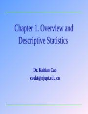 Chapter 1 Overview(Probability_and_Statistics).ppt