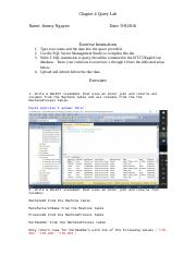 Chapter 4 Lab - Retrieving Data From Two or More Tables.docx