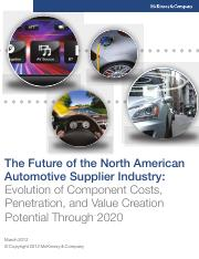 The_future_of_the_North_American_automotive_supplier