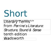 Short_Story_terms