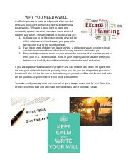 Why you need a will .docx