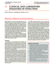 14 Clinical and Laboratory Diagnosis of Infection