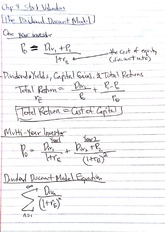 Managerial Finance Class Notes 3