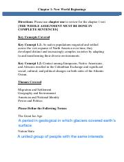Microsoft Word - Chapter 1 Review Sheet updated 15