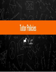 Yup Tutor Policies.pdf