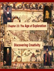 23 Age of Exploration