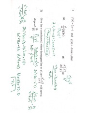 Product Rule Review