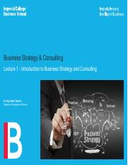 Lecture 1 - Introduction to Strategy and Consulting.pdf