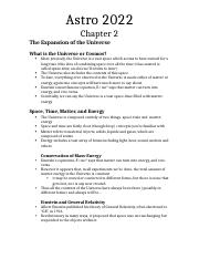 Astro 2022-Chapter 2 Notes.docx