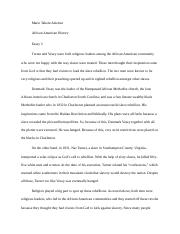 African American Essay 3.docx