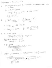 Solutions 1-7 Review Problems