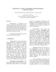 Experiment-1-physics-lab-report