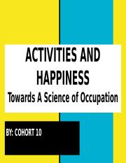 AM Activity and Happiness.pptx