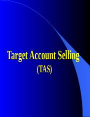 Target Account Selling (TAS).ppt