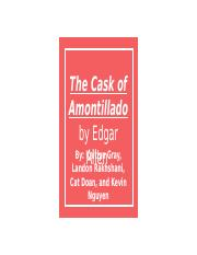 The Cask of Amontillado.pptx