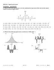 EEE3501 _Signals and Systems_STUDYING_QUESTIONS