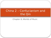 China 2 Philosophy and qin 2013 (1)