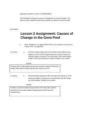 population genetics_ Lesson 2 ASSIGNMENT.docx