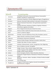 Synonyms_Part 03