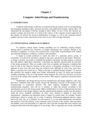 ME 447 - Chapter 2 Computer Aided Design and Manufacturing