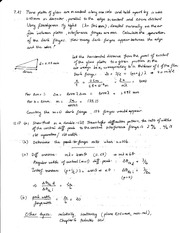 Physics 110B Final Exam Review