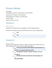 Privacy Module Quiz - Completed.docx
