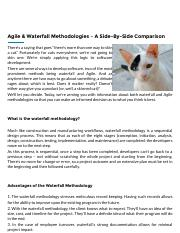 Agile & Waterfall Methodologies – A Side-By-Side Comparison | Base36.pdf