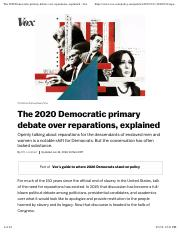 The 2020 Democratic primary debate over reparations, explained - Vox(2).pdf