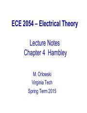 ECE 2054 Spring 2015 Lecture Notes Part 11(2)