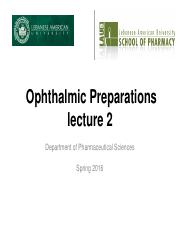 Ophthalmic 2