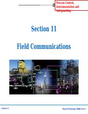 section-11 field communications.ppt