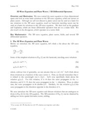 Lecture Notes 18