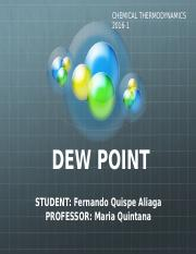 Dew point presentation