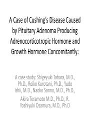 CS 1 A Rare Case of Cushing's Disease Caused by Pituitary Adenoma.pdf
