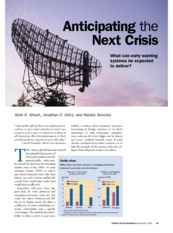 Finance & Development - September 2009 - Anticipating the Next Crisis