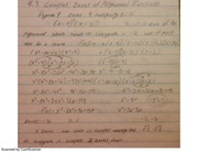 complex zeros of polynomial functions