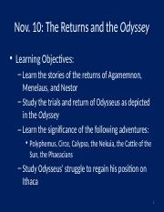 Nov10_14-Returns and Odyssey, part 1