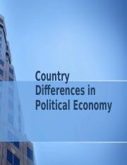 Country Differences in Political Economy.pptx