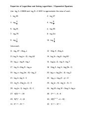 Properties of Logarithms and Solving Logarithmic and Exponential Equations (2).pdf